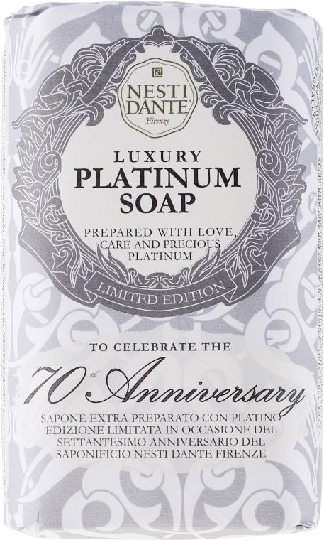 Luxuriöse Naturseife Platinum - Nesti Dante Vegetable Luxury Platinum Soap Limited Edition