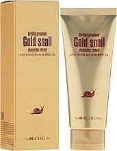 Düfte, Parfümerie und Kosmetik Gesichtsreinigungscreme mit Schneckenextrakt - The Orchid Skin Premium Snail Cleansing Cream