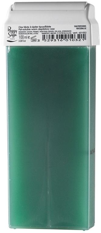 Enthaarungswachs grün - Peggy Sage Cartridge Of Fat-Soluble Warm Depilatory Wax Vert