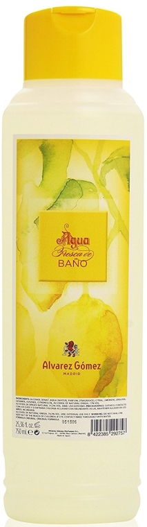 Alvarez Gomez Agua Fresca De Bano Splash Cologne - Eau de Cologne mit natürlichen Essenzen