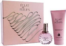 Düfte, Parfümerie und Kosmetik Lanvin Eclat De Fleurs - Duftset (Eau de Parfum 50ml + Körperlotion 100ml)
