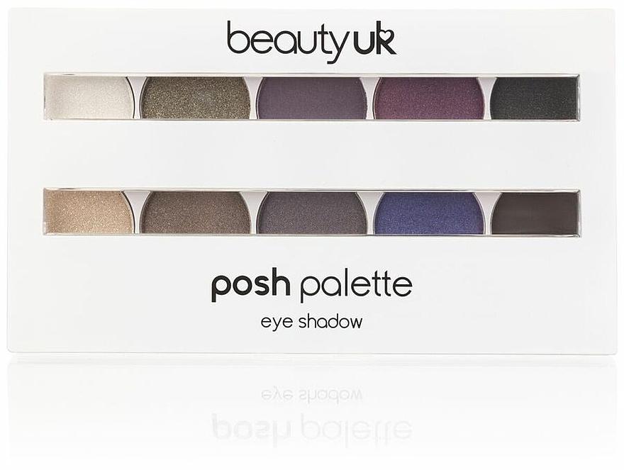 Lidschattenpalette - Beauty UK Posh Eye Shadow Palette
