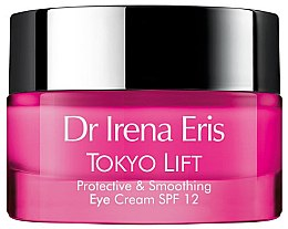Düfte, Parfümerie und Kosmetik Schützende und glättende Creme für die Augenpartie SPF 12 - Dr Irena Eris Tokyo Lift Protective& Smoothing Eye Cream SPF12