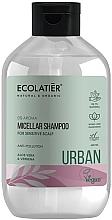 Düfte, Parfümerie und Kosmetik Mizellen-Shampoo für empfindliche Kopfhaut mit Aloe Vera und Eisenkraut - Ecolatier Urban Micellar Shampoo