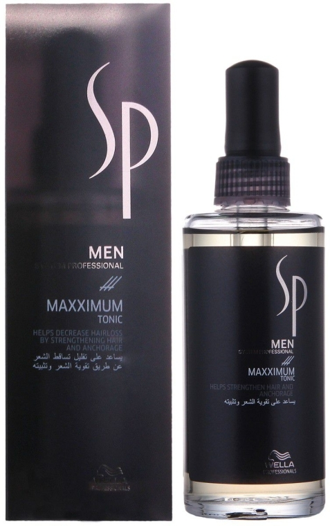 """Intensives Haartonikum """"Maxximum"""" gegen Haarausfall für Männer - Wella SP Men Maxximum Tonic — Bild N1"""