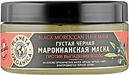 Düfte, Parfümerie und Kosmetik Maske gegen Haarausfall - Planeta Organica Black Moroccan Hair Mask