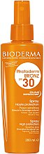 Düfte, Parfümerie und Kosmetik Sonnenschutzspray für empfindliche Haut SPF30 - Bioderma Photoderm Bronz SPF30 Protection Spray