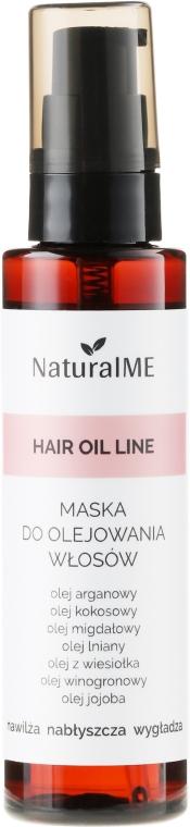 Spraymaske für geschädigtes Haar mit Argan- und Kokosöl - NaturalME Hair Oil Line
