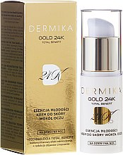 Düfte, Parfümerie und Kosmetik Creme für die Augenpartie - Dermika Gold 24 Eye Cream