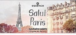 Düfte, Parfümerie und Kosmetik Lidschatten-Palette - Essence Salut Paris Eyeshadow Palette