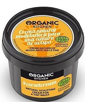 Modellierende Körpercreme für Taille mit Bienenwachs und Orange-Extrakten - Organic Shop Organic Kitchen Corsetcream