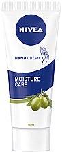 Düfte, Parfümerie und Kosmetik Handcreme - Nivea Hand Cream Moisture Care Olive