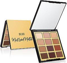 Düfte, Parfümerie und Kosmetik Lidschattenpalette - Milani Eyeshadow Palette