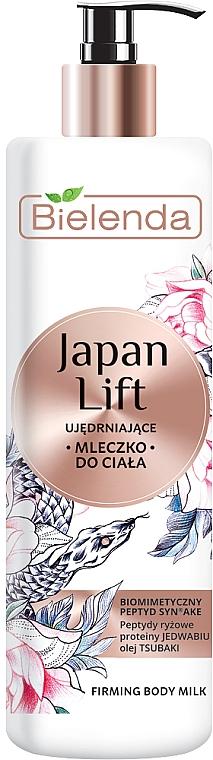 Straffende Körperlotion mit Seidenproteinen und Kamelienöl - Bielenda Japan Lift Body Milk