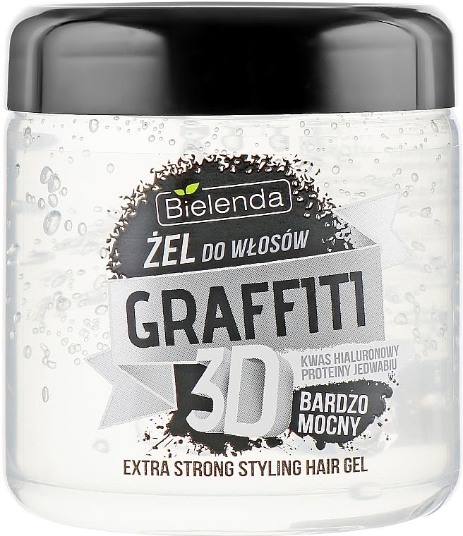 Haargel Extra starker Halt - Bielenda GRAFFITI 3D Extra Strong Stayling Hair Gel