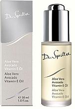 Düfte, Parfümerie und Kosmetik Feuchtigkeitsspendendes und regenerierendes Gesichtsöl mit Aloe Vera, Avocadoöl und Vitamin E - Dr. Spiller Aloe Vera Avocado Vitamin E Oil