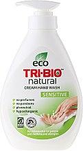 Düfte, Parfümerie und Kosmetik Natürliche Flüssigseife - Tri-Bio Cream Wash Sensitive