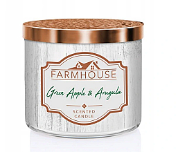 Düfte, Parfümerie und Kosmetik Kringle Candle Farmhouse Green Apple & Arugula - Duftkerze Green Apple & Arugula