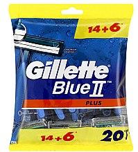 Düfte, Parfümerie und Kosmetik Einwegrasierer Set 14+6 St. - Gillette Blue II