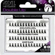 Düfte, Parfümerie und Kosmetik Wimpernbüschel-Set - Ardell Duralash Knotted Double Flares Short Black