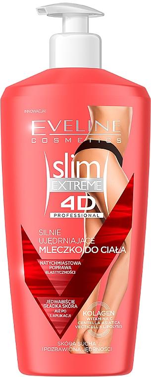 Intensiv straffende Körpermilch - Eveline Cosmetics Slim Extreme 4D