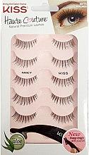 Düfte, Parfümerie und Kosmetik Künstliche Wimpern mit Applikator - Kiss Haute Couture Strip Lashes Fancy