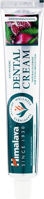 Ayurvedische Zahnpasta mit natürlichem Fluorid für frischen Atem - Himalaya Herbals Ayurvedic Dental Cream