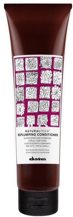 Feuchtigkeitsspendender Haarspülung für mehr Elastizität - Davines Replumping Conditioner — Bild N1