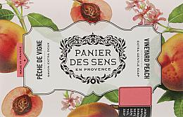 Düfte, Parfümerie und Kosmetik Extra sanfte Seife mit Sheabutter und Pfirsich - Panier des Sens Shea Butter Soap Vineyard Peach