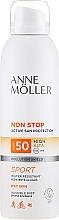 Düfte, Parfümerie und Kosmetik Wasserdichter Sonnenschutzspray für den Körper SPF 50 - Anne Moller Non Stop Active Sun Invisible Mist SPF50