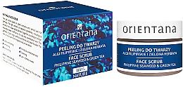Düfte, Parfümerie und Kosmetik Gesichtsgel Peeling mit philippinischem Algen- und Grüntee - Orientana Natural Gel Face Scrub Philippine Seaweed & Green Tea