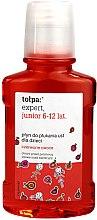Düfte, Parfümerie und Kosmetik Mundwasser für Kinder 6-12 Jahren - Tolpa Expert Junior 6-12 Years Mouthwash
