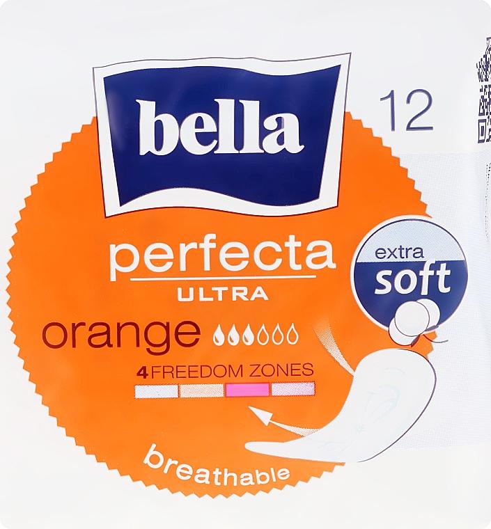 Damenbinden Perfecta Ultra Orange 12 St. - Bella