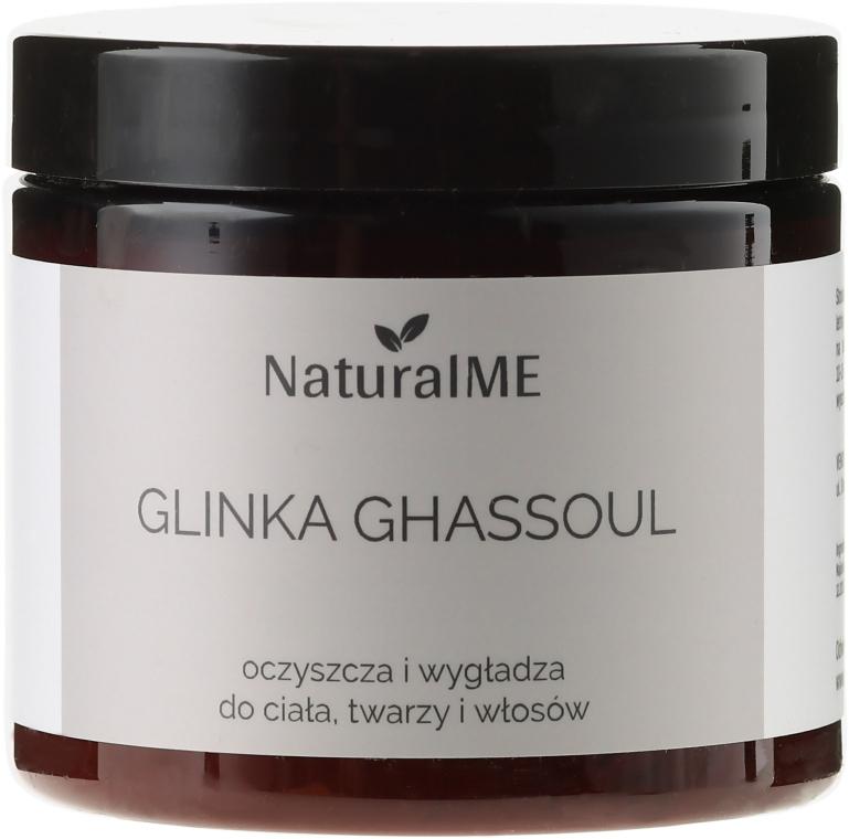 Natürliche marokkanische Ghassoul-Lavaerde für Gesicht, Körper und Haare - NaturalME Ghassoul