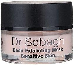 Tiefenpeeling Maske für empfindliche Haut - Dr Sebagh Deep Exfoliating Mask — Bild N2