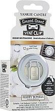 Düfte, Parfümerie und Kosmetik Yankee Candle Smart Scent Vent Clip Fluffy Towels - Yankee Candle Smart Scent Vent Clip Fluffy Towels