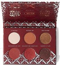 Düfte, Parfümerie und Kosmetik Lidschattenpalette - Zoeva Spice Of Life Mini Eyeshadow Palette