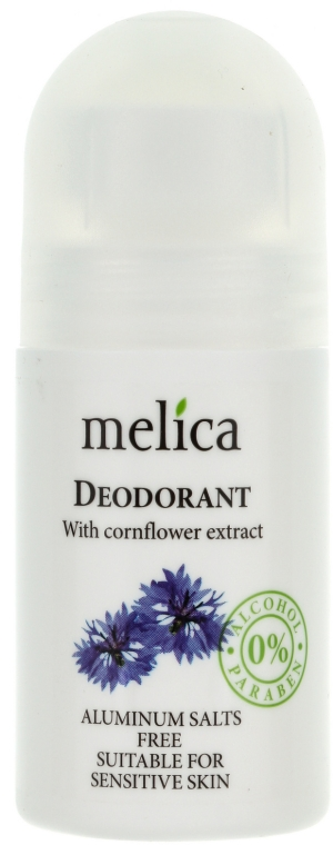 Deo Roll-On mit Kornblumenextrakt - Melica Organic With Cornflower Extract Deodorant