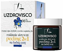 Düfte, Parfümerie und Kosmetik 2in1 Gesichtspeeling - Uzdrovisco