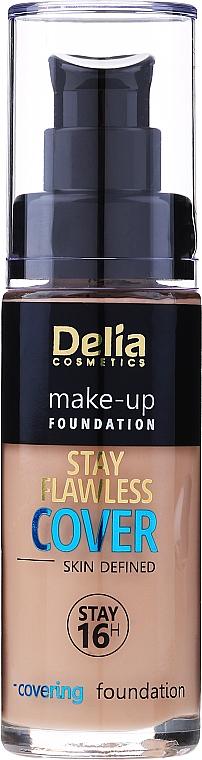 Flüssige Foundation - Delia Cosmetics Stay Flawless Cover