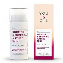 Düfte, Parfümerie und Kosmetik Nährende und energiespendende Gesichtscreme für reife Haut - You & Oil Nourish & Energise Mature Skin Face Cream