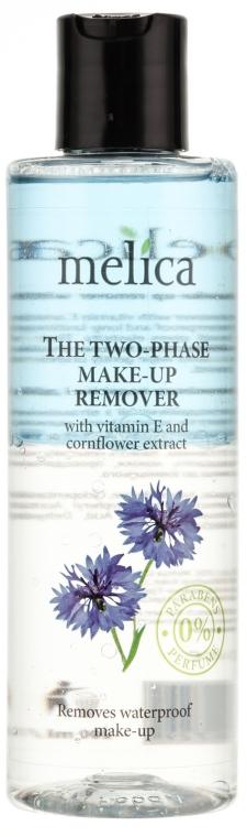 Melica Organic The Two Phase Make-Up Remover - Make-up Entferner mit Vitamin E und Kornblumenextrakt