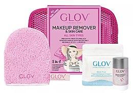 Düfte, Parfümerie und Kosmetik Handschuh-Set zur Gesichtsreinigung - Glov On-The-Go (Handschuh Mini 1St. + Handschuh 1St. + Gesichtsreinigungs-Stick 40g)