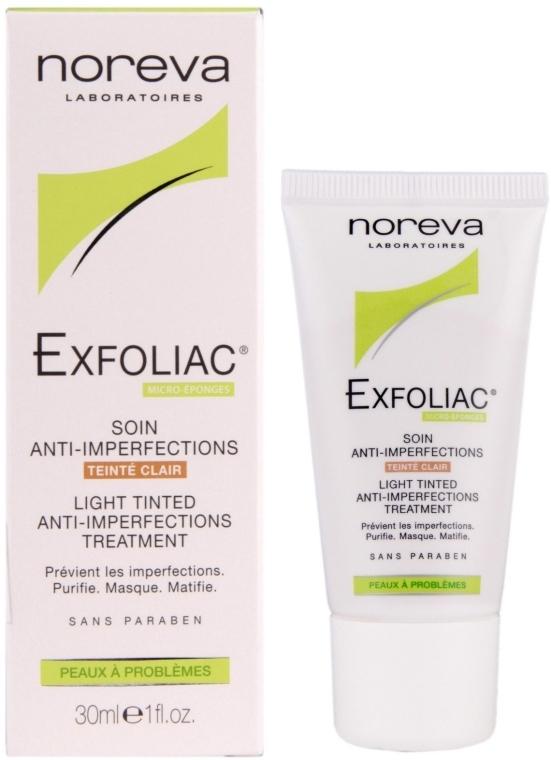 Leichte getönte Gesichtscreme gegen Hautunreinheiten - Noreva Laboratoires Exfoliac Soin Anti-Imperfections — Bild N1