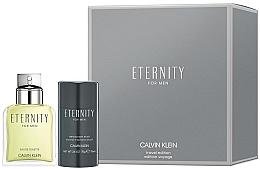 Düfte, Parfümerie und Kosmetik Calvin Klein Eternity For Men - Duftset (Eau de Toilette 100ml + Deostick 75ml)