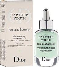 Düfte, Parfümerie und Kosmetik Anti-Rötungen Gesichtsserum mit Iris-Extrakten - Christian Dior Capture Youth Redness Soother Age-Delay Soothing Serum