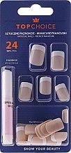 Düfte, Parfümerie und Kosmetik Künstliche Nägel French 74073 - Top Choice