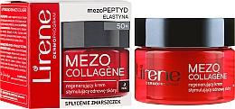 Düfte, Parfümerie und Kosmetik Regenerierende und erneuernde Anti-Aging Nachtcreme mit Elastin - Lirene Mezo Collagene