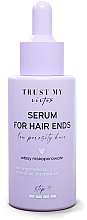 Düfte, Parfümerie und Kosmetik Serum für die Haarspitzen mit Baobab- und Kokosnussöl für Haar mit niedriger Porosität - Trust My Sister Low Porosity Hair Serum For Hair Ends