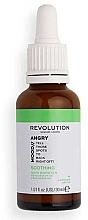 Düfte, Parfümerie und Kosmetik Beruhigendes Gesichtsserum mit Magnolienrindenextrakt für gereizte Haut - Revolution Skincare Angry Mood Soothing Serum